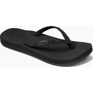2019 Reef Womens Ginger Sandals / Flip Flops Black RF001660